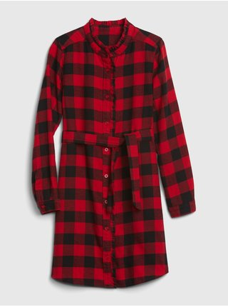 Červené holčičí šaty GAP
