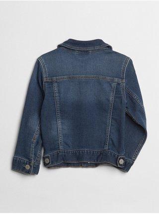 Modrá chlapčenská rifľová bunda GAP
