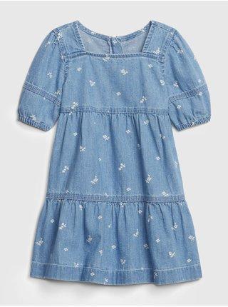 Modré dievčenské šaty GAP