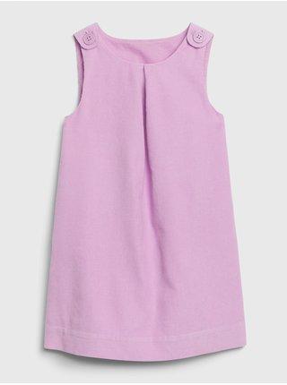 Ružové dievčenské šaty GAP