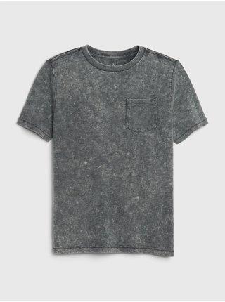Šedé chlapčenské tričko GAP