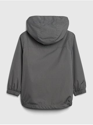 Šedá chlapčenská bunda GAP