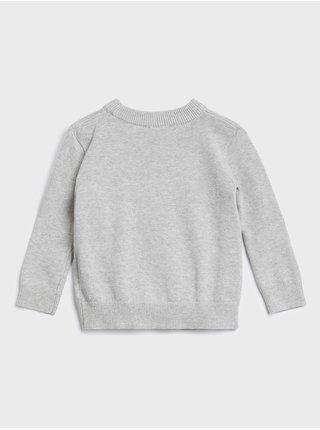 Šedý chlapčenské sveter GAP