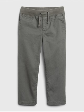 Zelené chlapčenské nohavice GAP