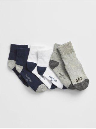 Farebné chlapčenské ponožky GAP Logo 3-Pack