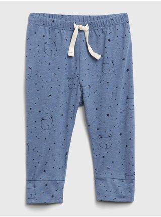 Modré chlapčenské naťahovacie nohavice GAP