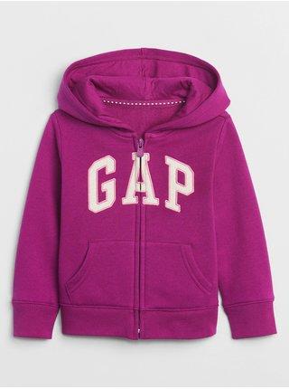 Fialová holčičí mikina GAP Logo