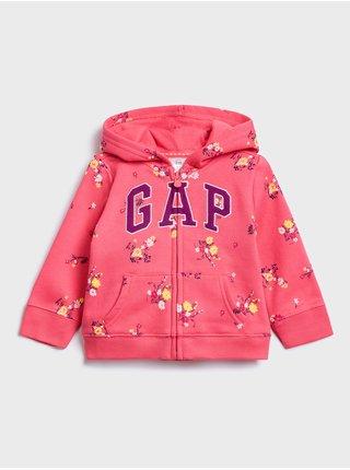 Červená holčičí mikina GAP Logo