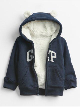 Modrá chlapčenská mikina GAP Logo