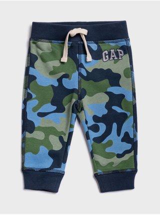 Modré chlapčenské tepláky GAP Logo