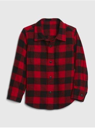 Červená klučičí košile GAP
