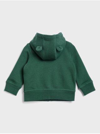 Zelená chlapčenská mikina GAP Logo