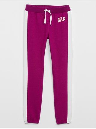 Fialové holčičí tepláky GAP Logo