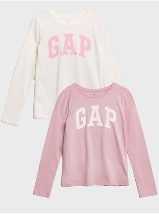 Farebné dievčenské tričko GAP Logo