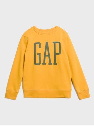 Žlutá klučičí mikina GAP Logo