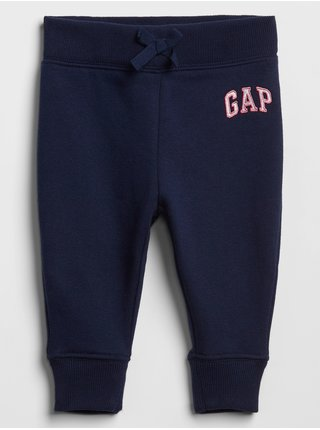 Modré dievčenské tepláky GAP Logo