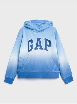 Modrá dětská mikina GAP Logo