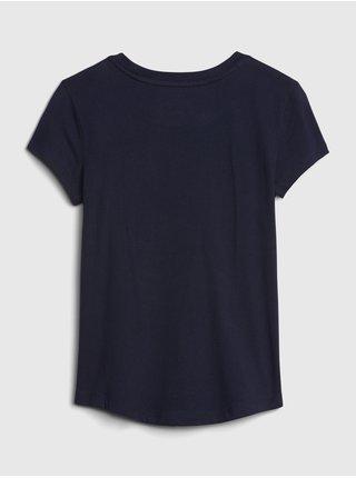 Modré holčičí tričko GAP Logo