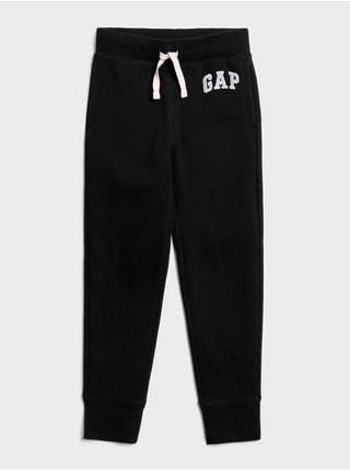 Čierne chlapčenské tepláky GAP Logo