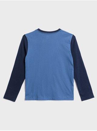 Modré klučičí tričko GAP Logo