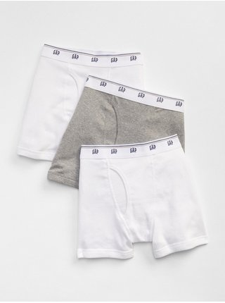 Farebné chalpčenské boxerky GAP 3-Pack