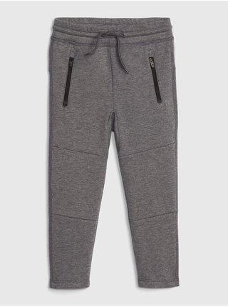 Šedé chlapčenské nohavice GAP Fit