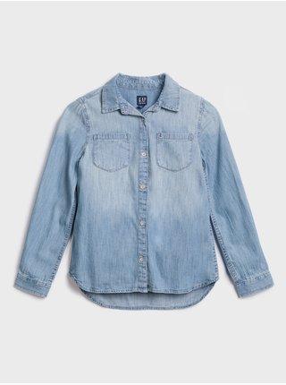 Modrá holčičí džínová košile GAP