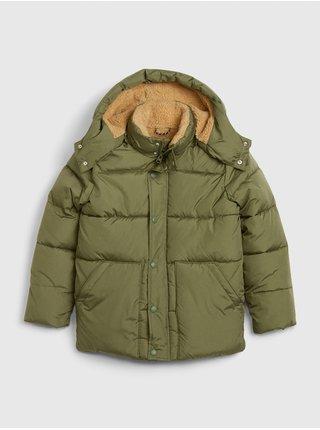 Zelená chlapčenská bunda GAP