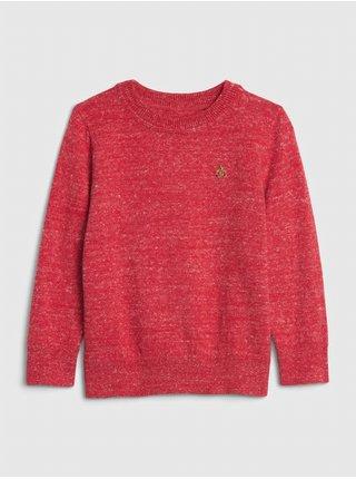 Červený chlapčenský sveter GAP