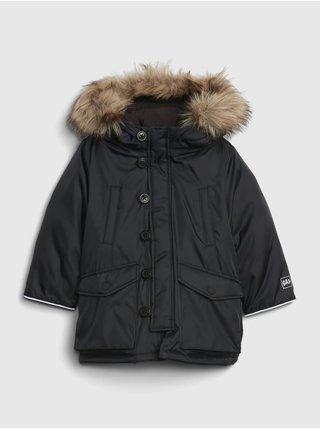 Černá klučičí bunda GAP
