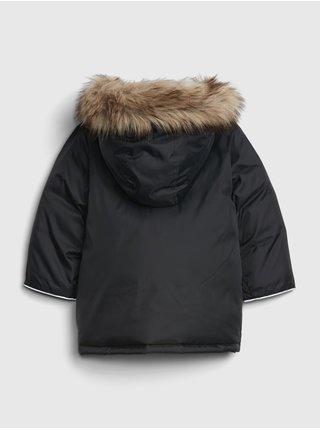 Čierna chlapčenská bunda GAP