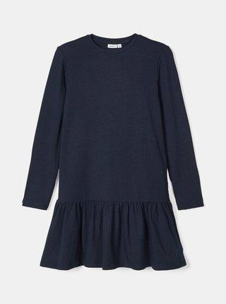 Tmavomodré dievčenské šaty name it