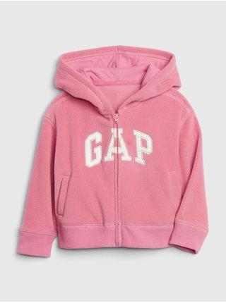 Mikina GAP Logo Ružová