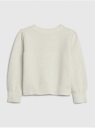 Béžový holčičí svetr GAP