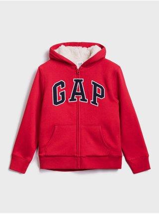 Mikina GAP Logo Červená