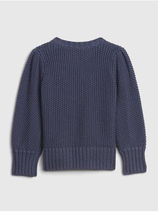 Modrý holčičí svetr GAP