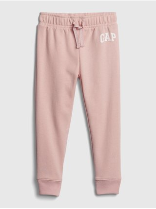 Ružové dievčenské tepláky GAP