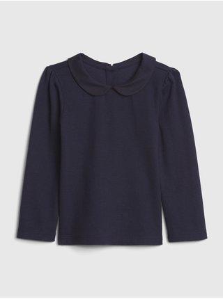 Modré dievčenské tričko GAP