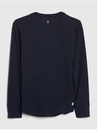 Modré chlapčenské tričko GAP
