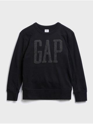 Černá klučičí mikina GAP Logo