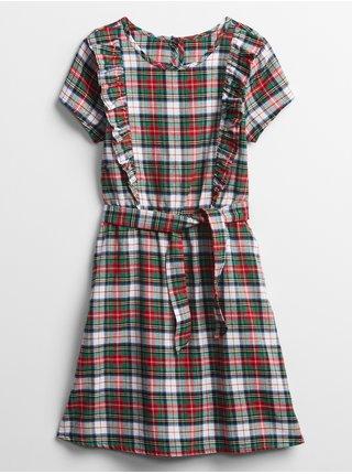 Barevné dievčenské šaty GAP