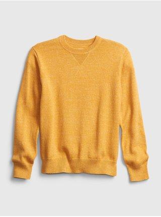 Žltý chlapčenský sveter GAP