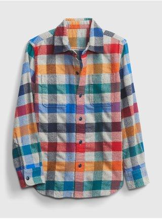 Farebná chlapčenská košeľa GAP