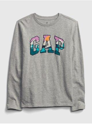 Šedé klučičí tričko GAP