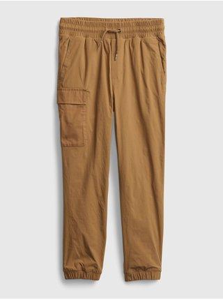 Kalhoty GAP Hnedá