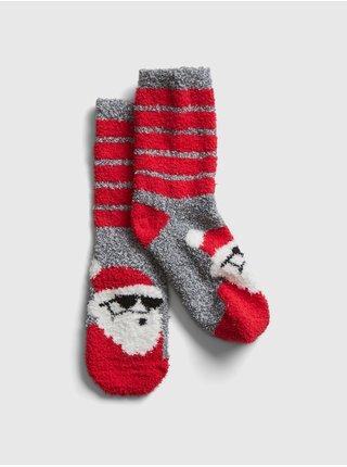 Červené klučičí ponožky GAP