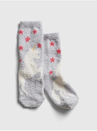 Šedé holčičí ponožky GAP