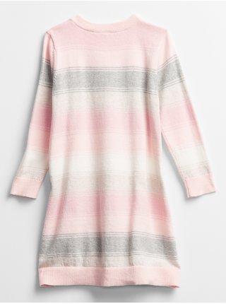 Růžové holčičí šaty GAP