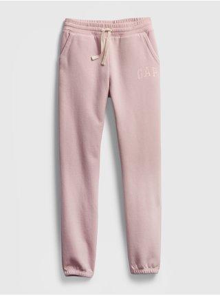 Růžové holčičí tepláky GAP