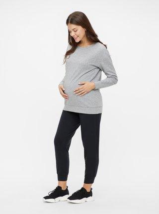 Čierne tehotenské tepláky Mama.licious